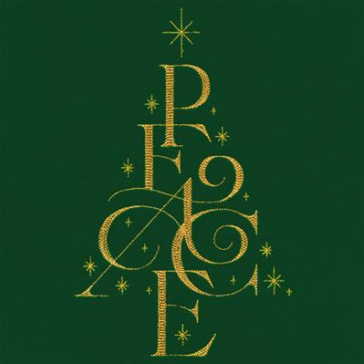 Peace Christmas Tree_image