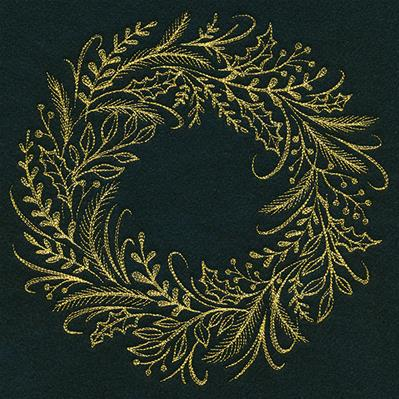 Yuletide Botanicals Wreath_image