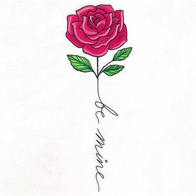 February Be Mine Rose_image