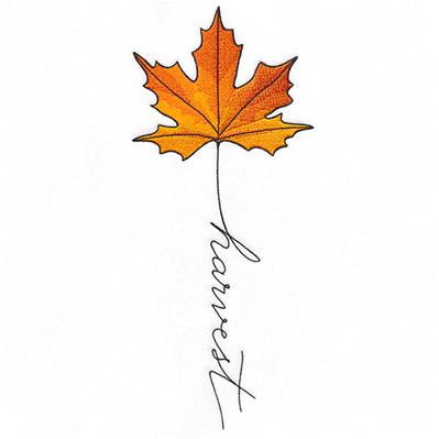 September Harvest Maple Leaf_image