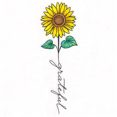 November Grateful Sunflower_image