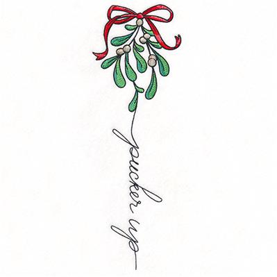 December Pucker Up Mistletoe_image