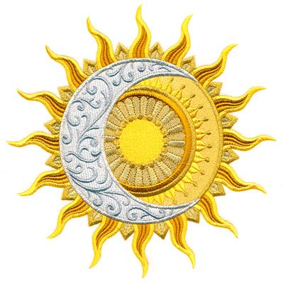 Sensational Eclipse Medallion_image