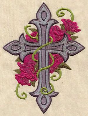 Cross and Roses_image