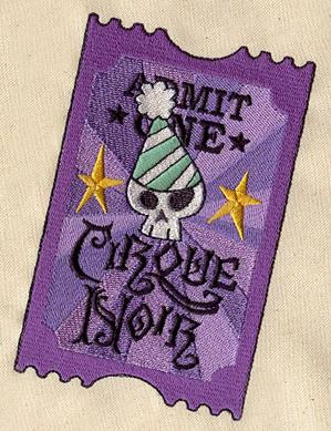 Cirque Noir Ticket_image