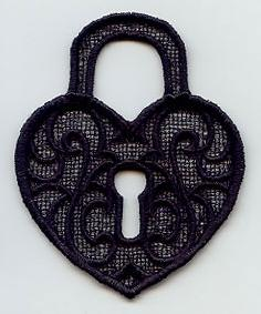 Antique Lock (Lace)_image