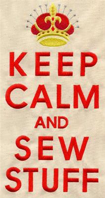 Keep Calm and Sew Stuff_image