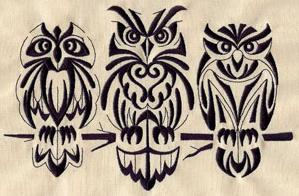 Retro Owls_image