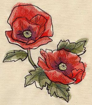 Painted Poppies_image