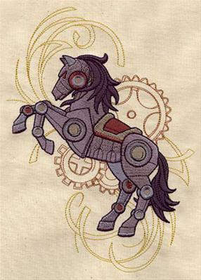 Western Steampunk - Horse_image