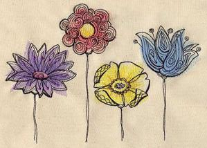 Painted Flowers_image