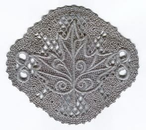 Evenfall Lace Leaf Motif_image