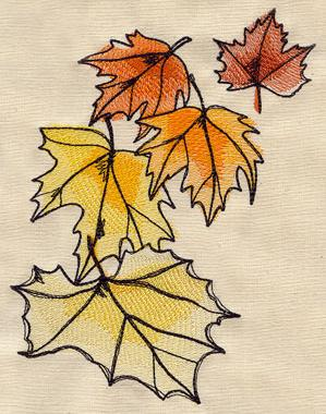 Painted Leaves_image