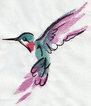 Painted Hummingbird_image