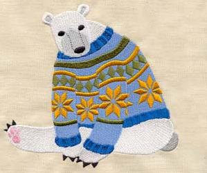 Cozy Polar Bear_image