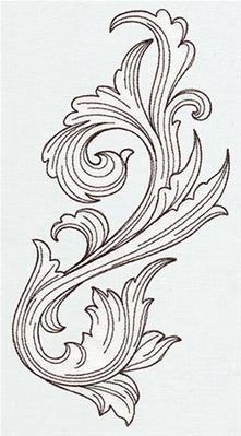 Miniature Menagerie Engraved Flourish_image