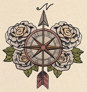 Compass and Roses_image