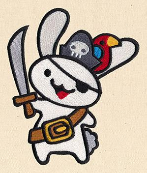 Adorable Adventure - Pirate Bunny_image