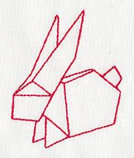Origami Bunny_image