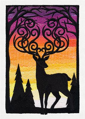 Sunset Stag_image