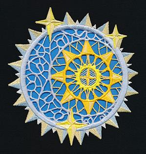 Celestial Window (Cutwork)_image