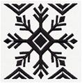 Ironic Sweater - Snowflake Pattern_image