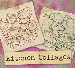 Kitchen Collages (Design Pack)_image