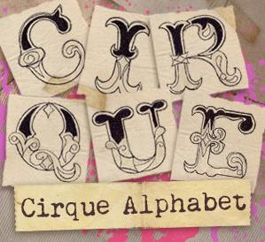 Cirque Alphabet (Design Pack)_image