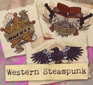 Western Steampunk (Design Pack)_image