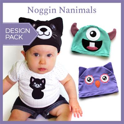 Noggin Nanimals (Applique) (Design Pack) (Split)_image