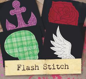 Flash Stitch (Applique) (Design Pack)_image