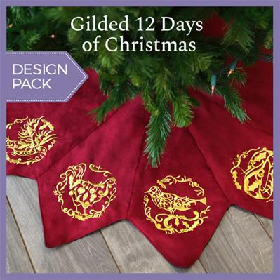 Gilded 12 Days of Christmas (Design Pack)_image