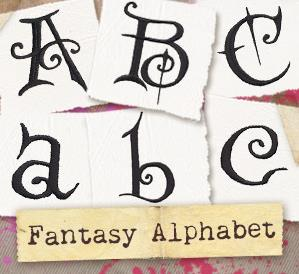 Fantasy Alphabet (Design Pack)_image