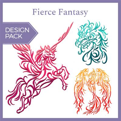 Fierce Fantasy (Design Pack)_image