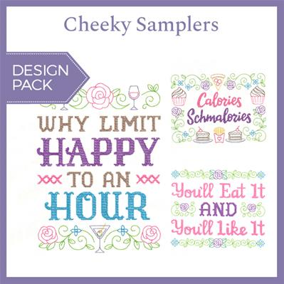 Cheeky Samplers (Design Pack)_image