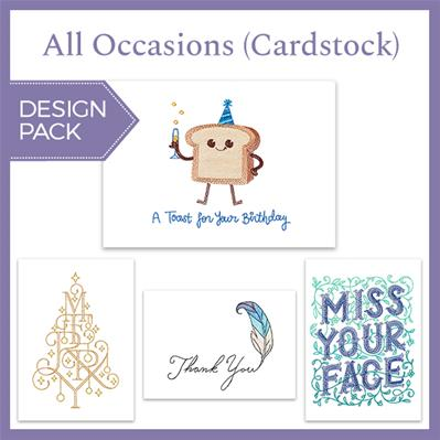 All Occasions (Cardstock) (Design Pack)_image