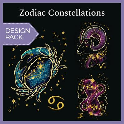 Zodiac Constellations (Design Pack)_image