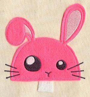 Cutting Edge Bunny (Applique)_image