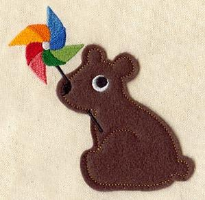 Bear Play (Applique)_image