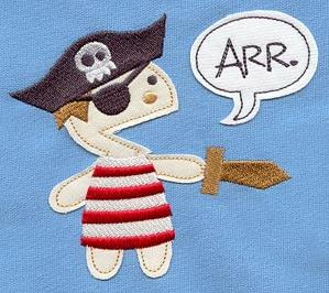 Pirate Speaks (Applique)_image