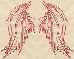 Wings from Below (Wing Pair)_image