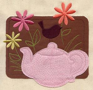 Springtime Tea (Applique)_image