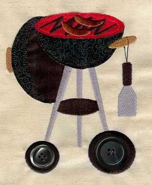 Button Grill (Applique)_image