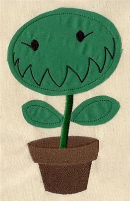 Hungry Plant (Applique)_image