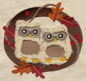 Fluffy Owls (Applique)_image