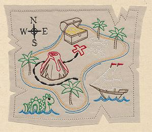 Treasure Map (Applique)_image