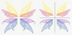 Sheer Magic Wings (Applique) (Split)_image