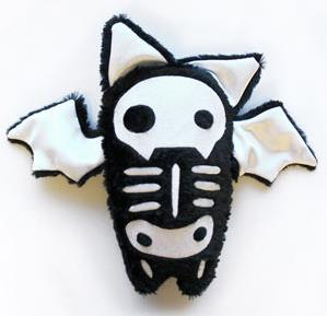 Skelly Plushies - Bat (Stuffed)_image