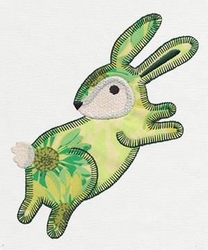 Patchwork Thicket - Bunny (Applique)_image