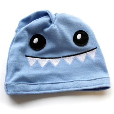 Noggin Nanimals - Shark Face (Applique) (Split)_image